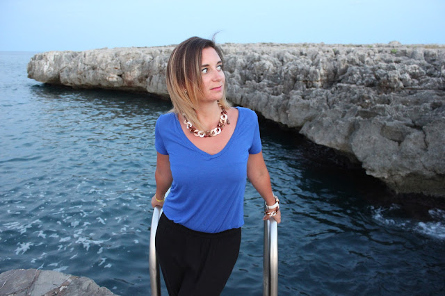 Outfit of the day: the sea is blue Livinglove by petra