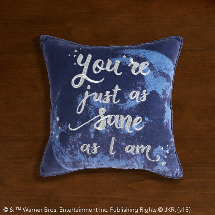 Pottery Barn Harry Potter Pillow