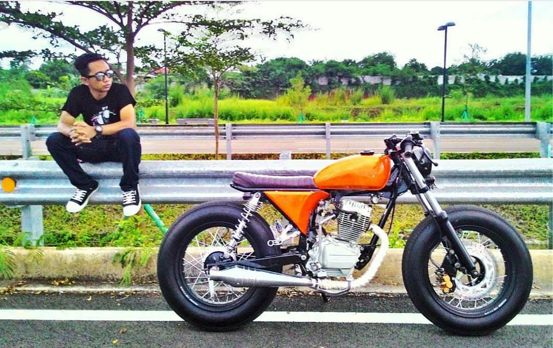 Motor custom GL Pro Cafe racer