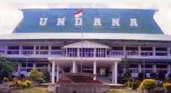 Pendaftaran Online Mahasiswa Baru ( UNDANA )  Universitas Nusa Cendana Kupang
