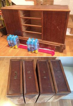 Muebles reciclados modernos blog decoraci n con tu for Muebles o rastro