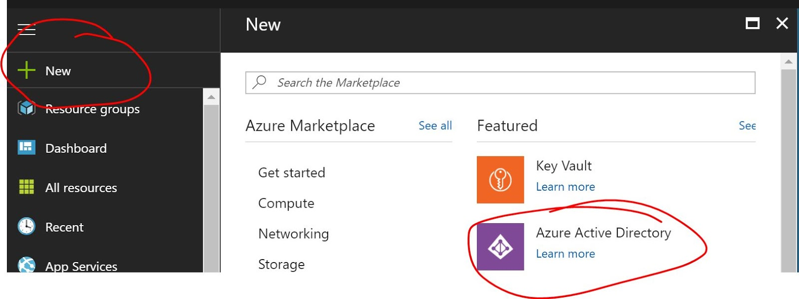 hight resolution of create an azure ad service in your azure subscription as shown below
