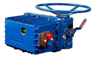Limitorque L120 electric actuator