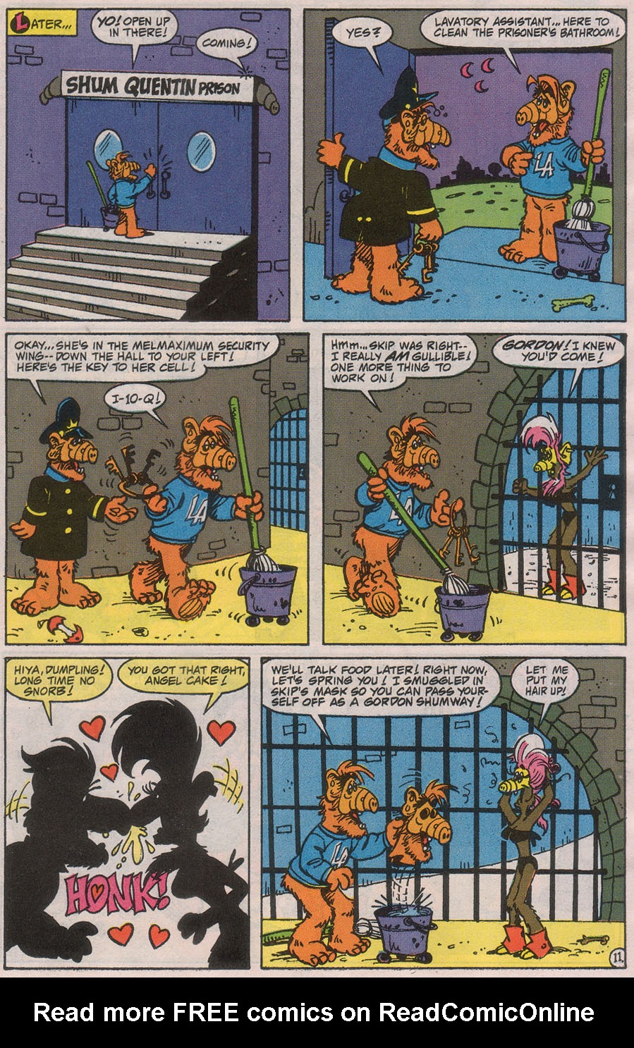Read online ALF comic -  Issue #42 - 17