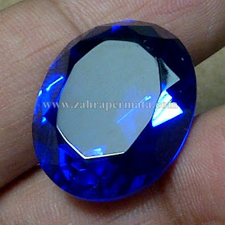 Batu Permata Royal Blue Obsidian