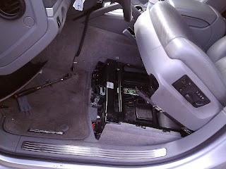 Porsche Cayenne Battery Installation