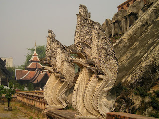 Temple Dragons, Thailand by Simon/All Free stock photos, my top fantasy worlds to visit