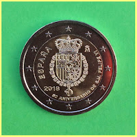 2018 España Aniversario Felipe 6