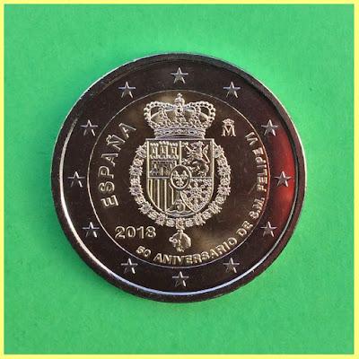 2 Euros España 2018 Felipe VI