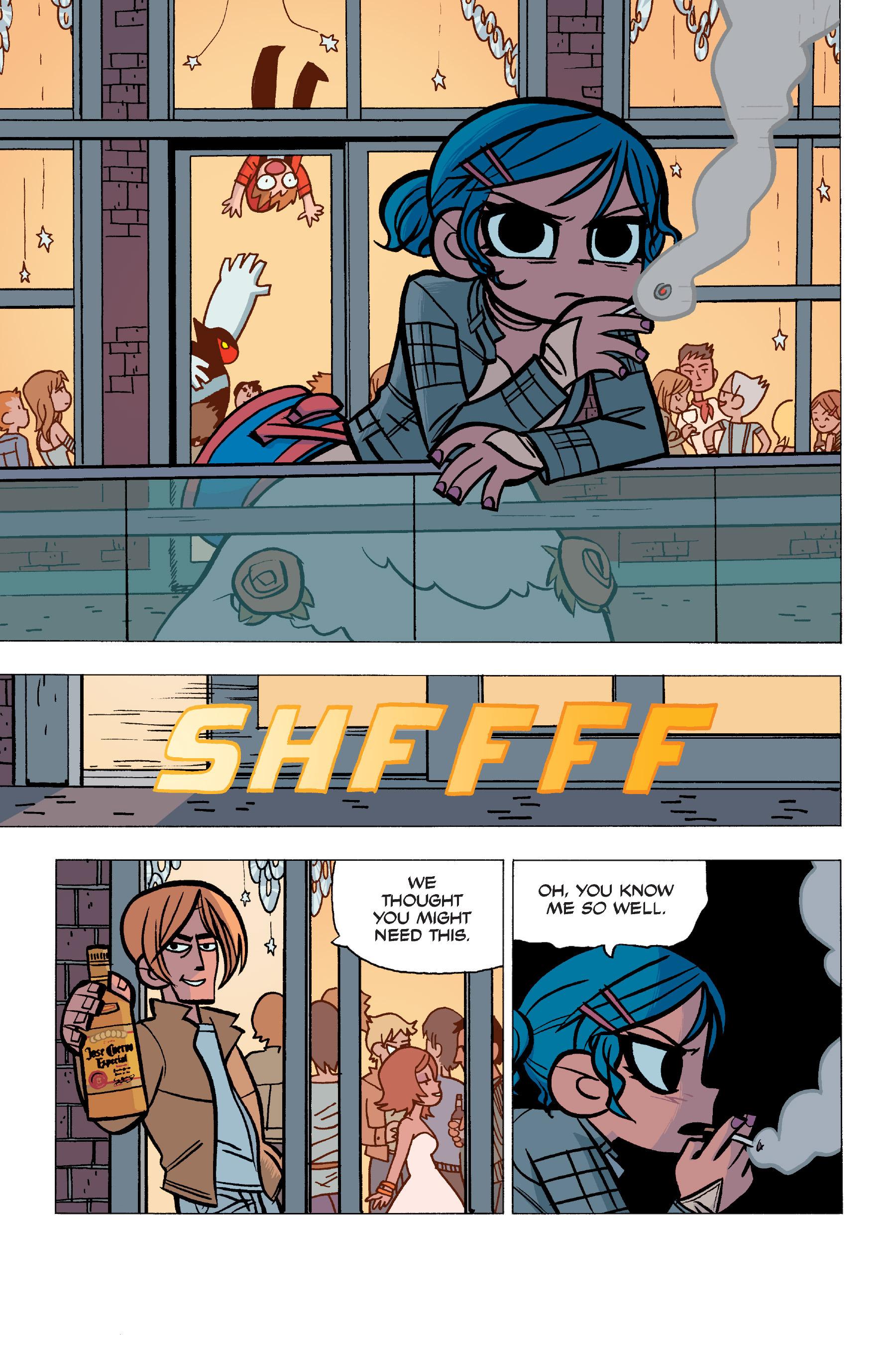 Read online Scott Pilgrim comic -  Issue #5 - 84