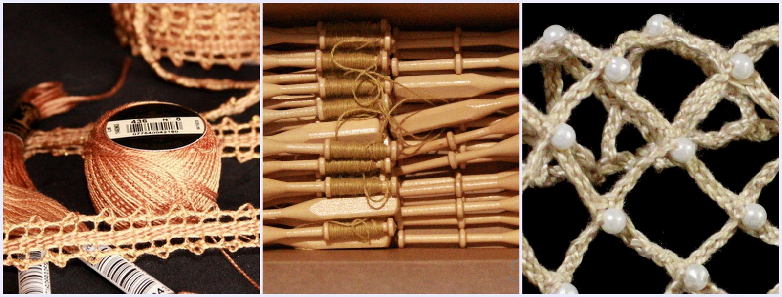 Click through for Bobbin Lace