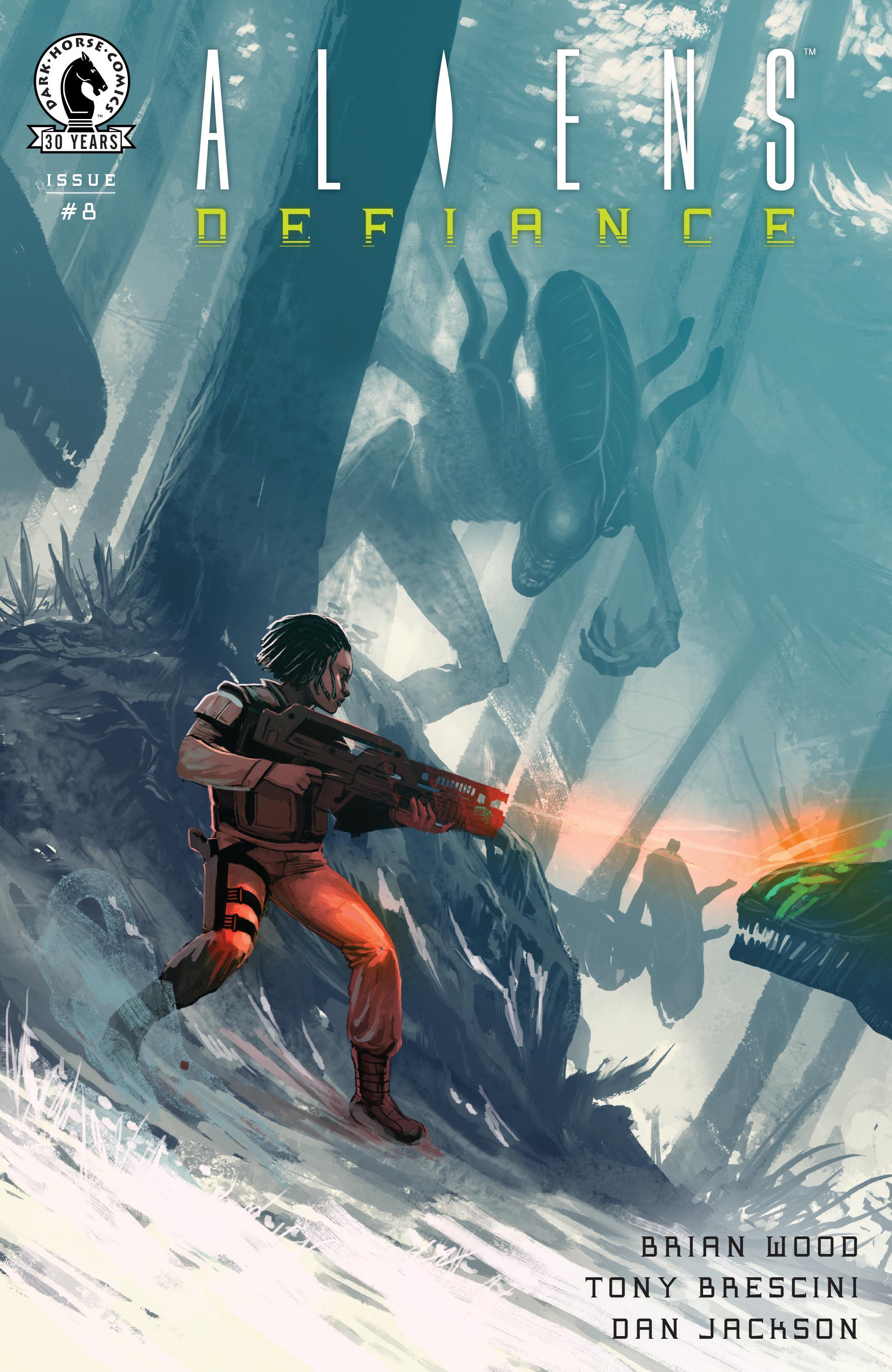 Read online Aliens: Defiance comic -  Issue #8 - 1