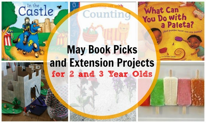 May Book Picks for 2 and 3 Year Olds