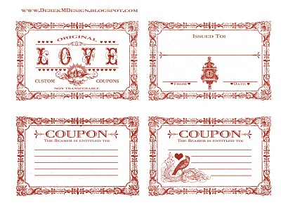 coupon book template for boyfriend - love coupons capacity to love