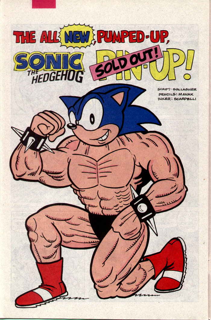 Read online Sonic The Hedgehog comic -  Issue #9 - 23