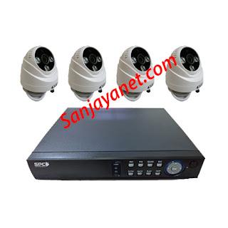 Promo Paket CCTV HD 4ch Murah SPC 1.3MP Gambar Jernih Pati