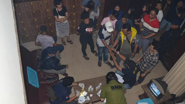 Razia narkoba di Diskotek Old City (Foto: dok. BNNP DKI Jakarta)