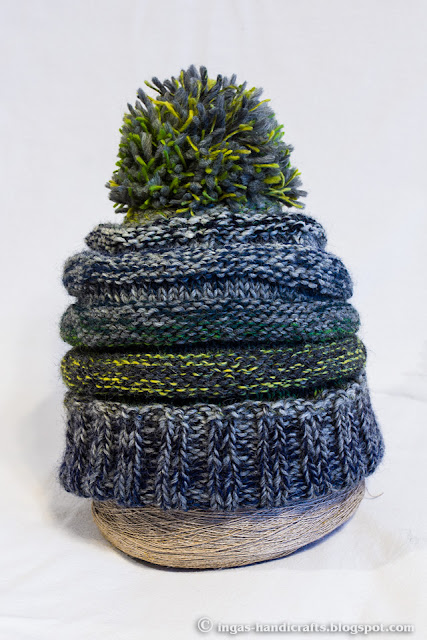 Herilasepesa müts / Wasps Nest Knitted Hat 4