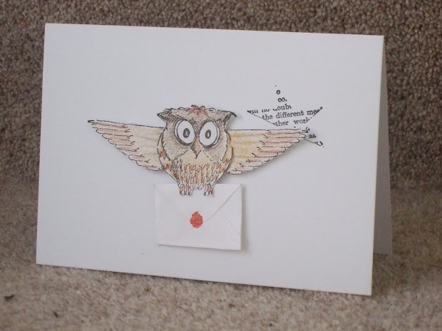 Harry Potter Owl Post Stamp