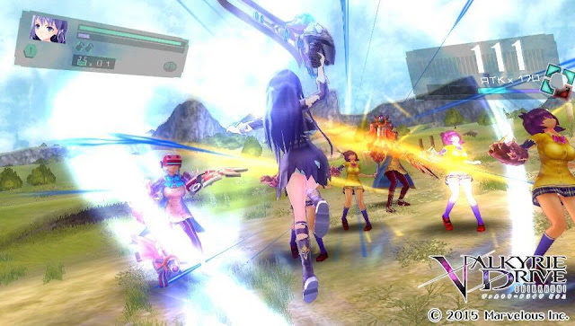 Valkyrie Drive Bhikkhuni PC Free Download Full Screenshot 1