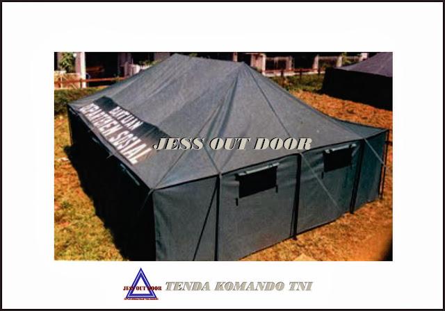 Pabrik Tenda, Tempat, Produksi, Pembuat Tenda Komando