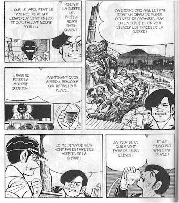 Nakazawa Keiji. Gen d'Hiroshima, t.8, p.85  © Vertige Graphic.