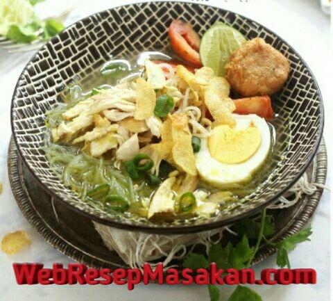 Soto ayam kuah bening, Resep Soto Ayam Bening, Cara membuat soto ayam kuah bening,
