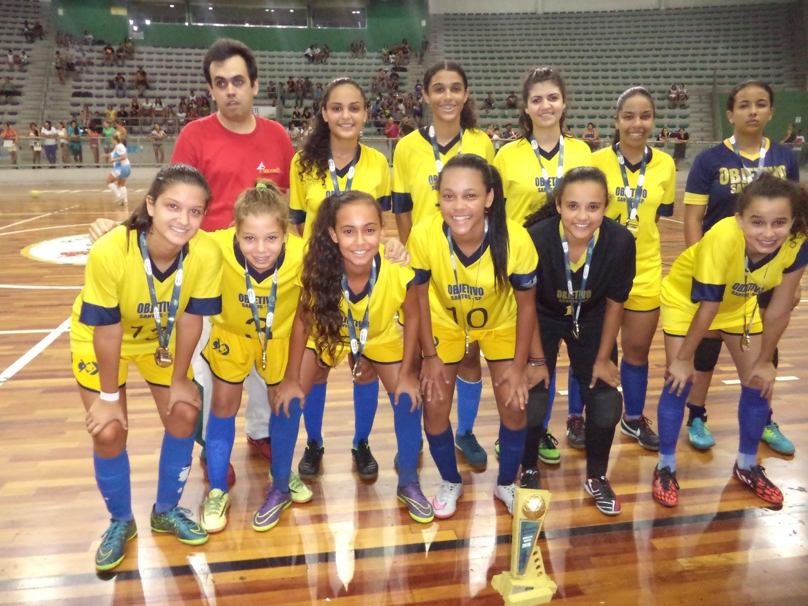 b5c587f8dcd8b A equipe de futsal feminino sub 17 do Colégio Objetivo Santos vai em busca  do bicampeonato da Copa Aberta Cidade de Santos de Futsal que terá início  no ...