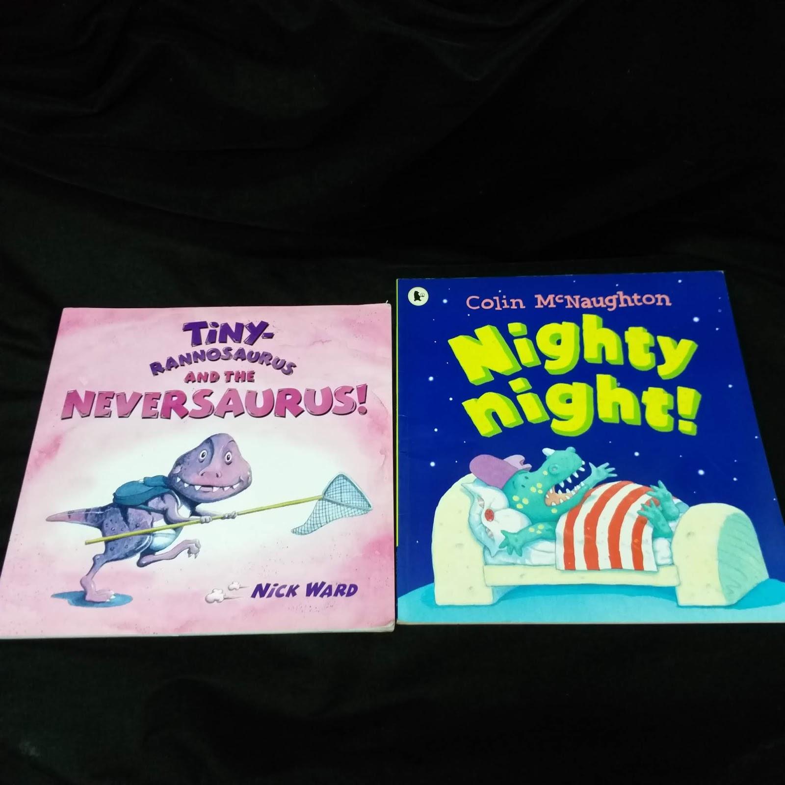 f79d8b7490 Tiny Rannosaurus   Nighty night. By Nick Ward   Colin McNaughton