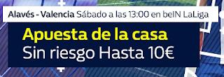 William Hill promocion Alavés vs Valencia 28 octubre