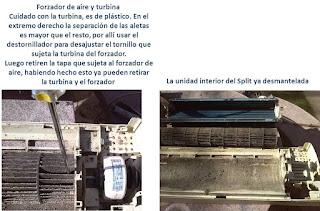 """""""Mantenimiento a un Aire Acondicionado tipo split3"""""""