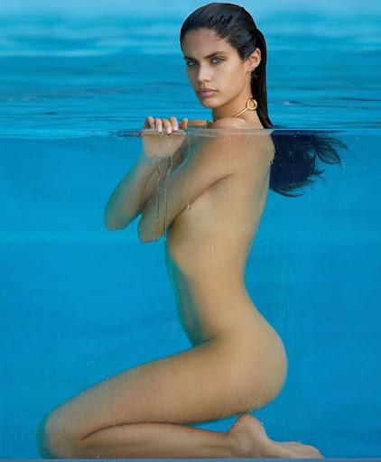 sara sampaio topless photo shoot maxim magazine models