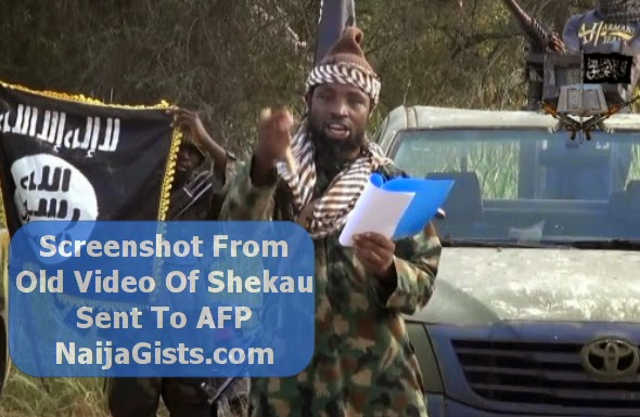 new video of shekau alive