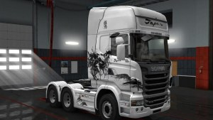 Hawk Suiboku Skin for Scania R