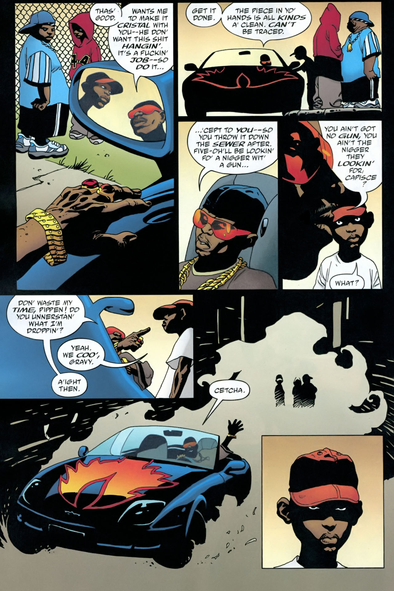 Read online 100 Bullets comic -  Issue #90 - 16