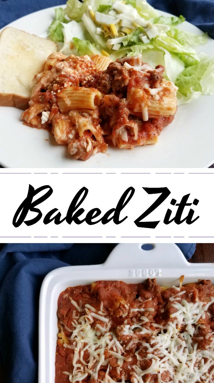 Cooking with carlee mimis baked ziti created using the recipes generator forumfinder Images