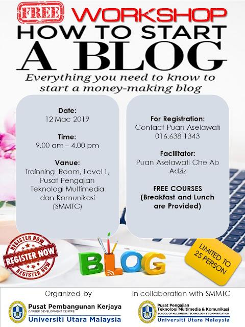Bengkel Blog Sheila Inspire Dot Com