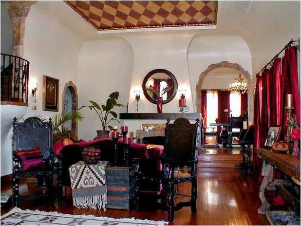20 Blue Living Room Design Ideas: Key Interiors By Shinay: Southwestern Living Room Design Ideas