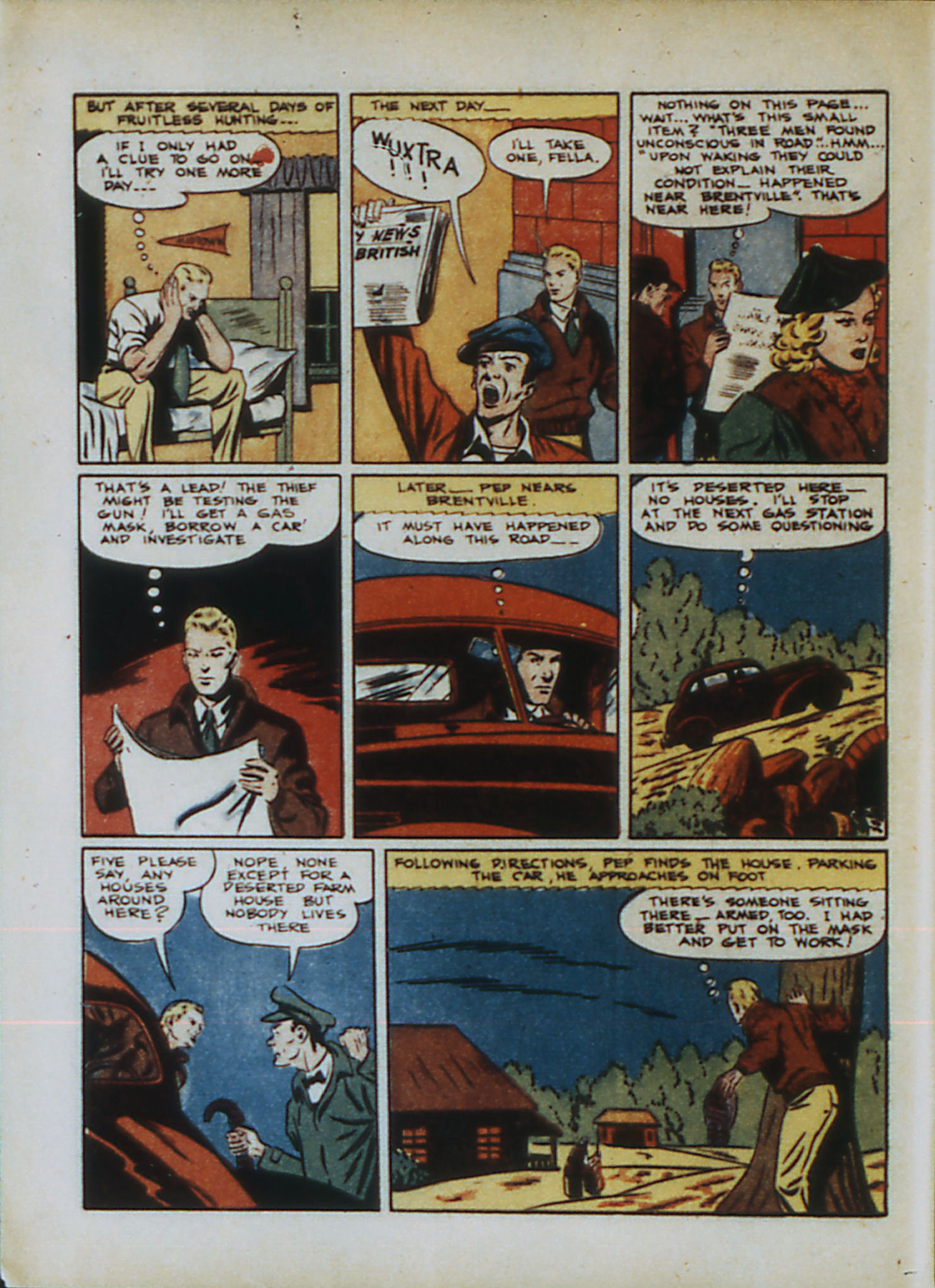 Read online Action Comics (1938) comic -  Issue #33 - 21