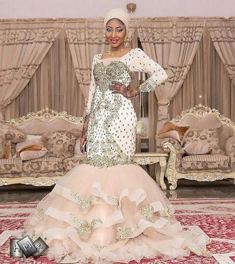 Lovely photographs of Amina Badaru Abubakar at her wedding supper