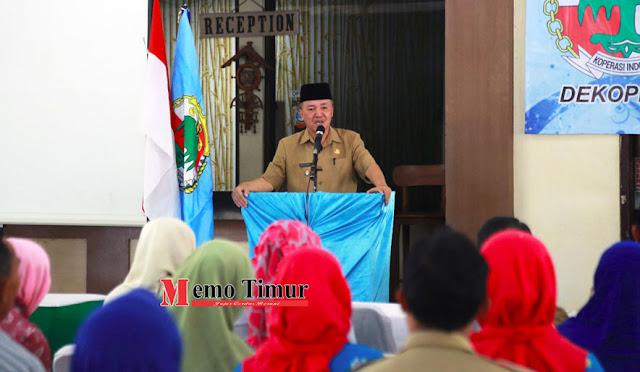 Kerja Daerah Dewan Koperasi Indonesia Daerah Kabupaten Lumajang