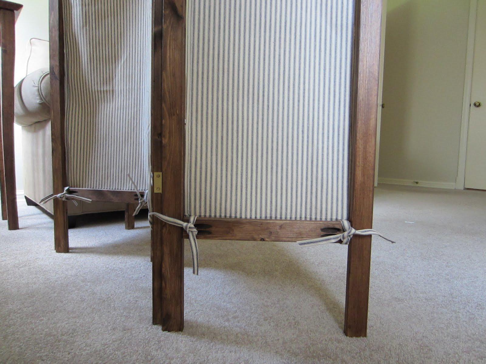 Staying Steyn: DIY A Folding Screen