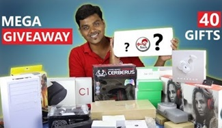 40 Gifts – 1M Special Mega GIVEAWAY | Tamil Tech