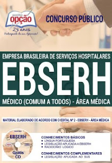 Concurso EBSERH Nacional 2018 (Médica)