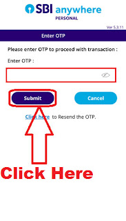 how can i  add inter bank beneficiary account in sbi anywhere