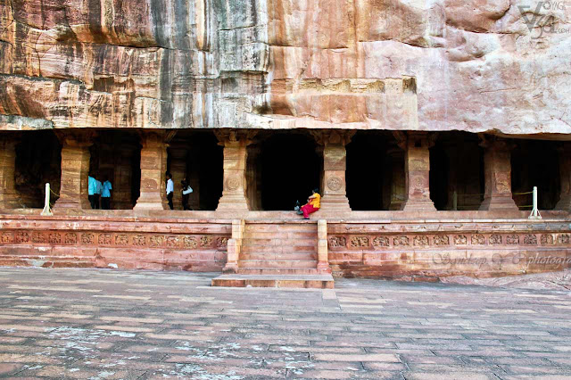 Badami Cave temples - Chalukya temples