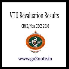 VTU REVALUATION RESULTS 2018 – RESULTS.VTU.AC.IN