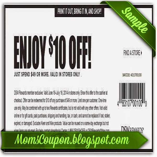 Dsw coupon code 2018
