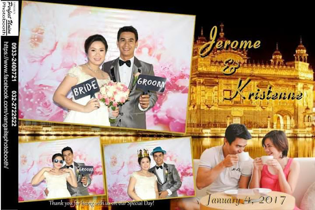 affordable wedding package cebu - photobooth