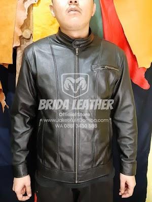 Jual Jaket Kulit Asli Garut Pria Domba Original Brida Leather | WA 08813430588